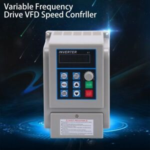1 5kw Vfd Variable Frequency Drive Inverter Speed Controller Converter 220v Usa