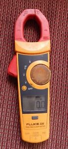 Fluke 335 True Rms Clamp Meter Working No Leads