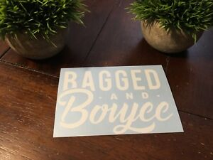 Bagged And Boujee Car Window Decal Sticker Air Ride Suspension Import
