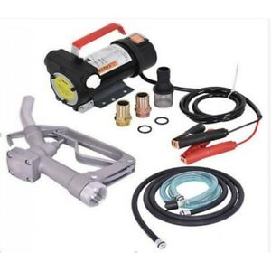 12v Electric Diesel Filter Pump Fuel Kerosene Extractor Motor By Vehicle Battery
