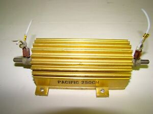 Pacific 250ch Power Resistor 250w 5 200 Ohm 8239 Used