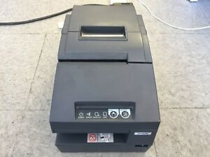 Epson Tm h6000iii Multifunction Thermal Usb Receipt Printer Gray M147g