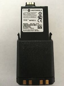 New oem Motorola Apx 6000 7000 8000 Battery Pmnn4494 5100mah Li ion Impres