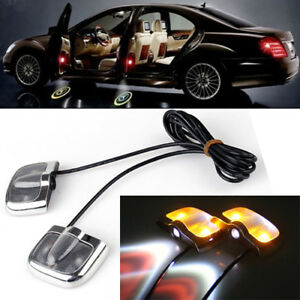 No Drill Car Led Laser Projector Shadow Lamp Lights Door Step For Toyota Usa