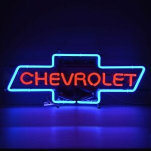 Neonetics 5chvbo Chevrolet Bowtie Neon Sign