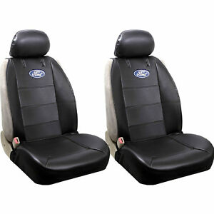 Brand New Ford Elite Style Car Truck Synthetic Leather Front 2pc Seat Covers