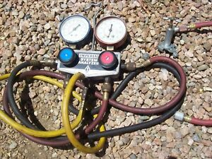 Imperial Eastman System Analyzer Air Conditioning Refrigeration Manifold Gauge