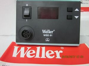Weller Wsd81 Soldering Station New In Original Box Cooper Industry German