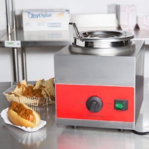 Carnival King Commercial Kitchen 3 5 Qt Warmer With Bain Marie Pot Lid