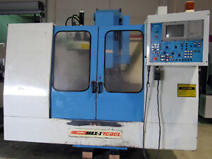 Supermax Max 3 Rebel Vmc Cnc Mill 40 x 17 y 24 z 8000 rpm Ct 40 Taper