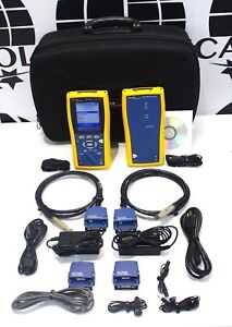 Fluke Dtx 1800 Cable Analyzer With Smart Remote Dtx 1800 Dtx 1200 Dtx 1800