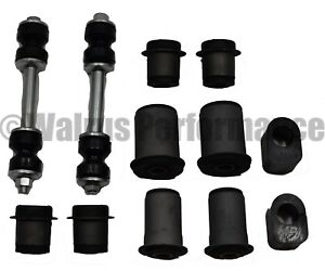 Control A Arm Sway Bar Bushings Kit Upper Lower Links For 1967 69 Chevy Camaro