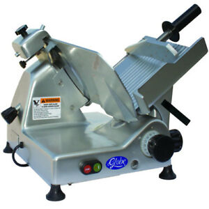 Globe G10 Food Slicer Manual 10 Diameter Knife Belt Driven 1 3 Hp Medium Du