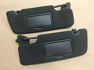 2012 2013 Ford Mustang Boss 302 Coupe Sun Visors Pair Oem