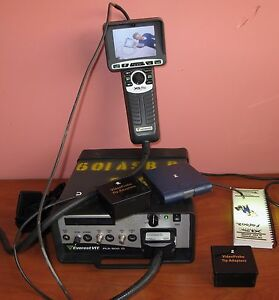 Ge Everest Vit Pls 500d Xl Pro Color Videoscope Borescope System Flaw Detector