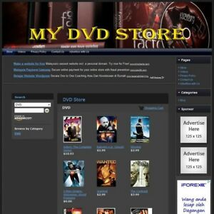 Dvd Store Make With This Online Affiliate Website Free Domain