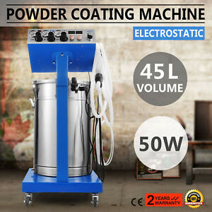 Wx 958 Powder Coating System With Spraying Gun Electrostatic Machine 110 220v