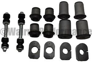 Front Control A arm sway Bar Bushing Kit For Gm A body Chevelle Gto 68 72 Round