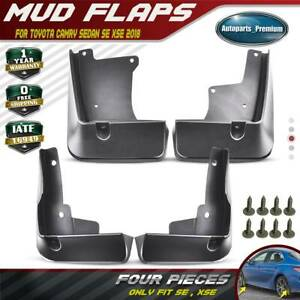 Fit For Toyota Camry 2018 Mud Flaps Splash Guards Se Xse Sport Mudflaps Fenders