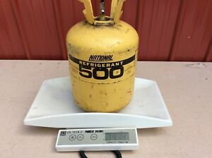 Freon R 500 500 Refrigerant 30 Lbs Cylinder Partial 14 24 Lbs Gross Weight