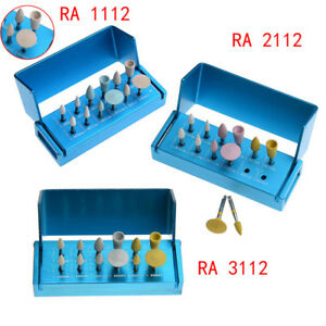Diamond Porcelain Zirconia Polishing Kit F Dental Clinic Low Speed Contra Angle