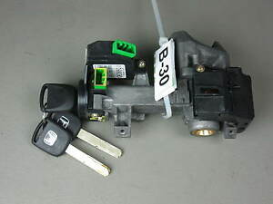 03 04 05 Honda Civic Oem Ignition Switch Cylinder Lock Manual Trans With 3 Keys