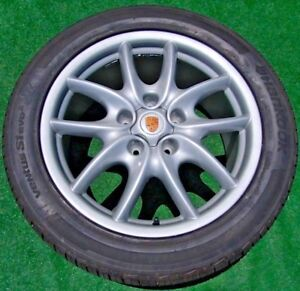 Perfect Genuine Original Oem Factory Porsche Cayenne Turbo 19 Inch Wheels Tires