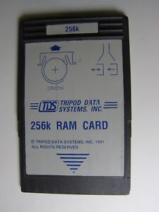 Tds 256k Ram Card Battery Backed For Hp 48gx sx Calculator
