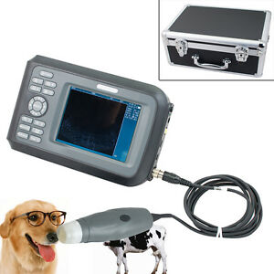 For Livestock Portable Ultrasound Scanner Machine Hand Type Animals Vet Use Usa