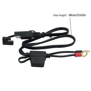 Battery Tender Sae Dc Power Automotive Diy Connector Cable With Fuse 2inch