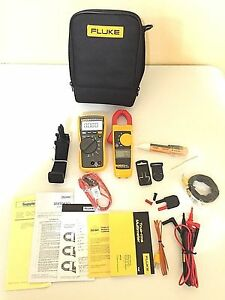 Fluke 116 323 Electrician Kit With Accessories Tp 214444 And 214445 Great