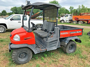2013 Kubota Rtv900 Utv 4x4 Diesel 1585 Hrs Utility Vehicle Bad Transmission