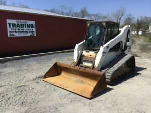 2004 Bobcat T300 Tracked Skid Steer Loader W Cab