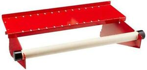 Wall Control Pegboard Paper Towel Holder Dowel Rod Pegboard Shelf Tool Red Red