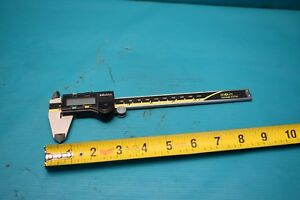 Used Mitutoyo 500 196 20 6 Cd 6 Csx Caliper With Case