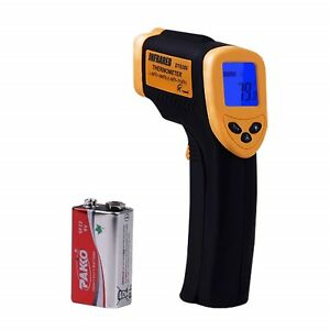 Infrared Temperature Laser Thermometer Test Gun Non contact Digital Lcd Display