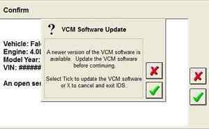 Ford Ids Vcm 2 Software License 1 Year
