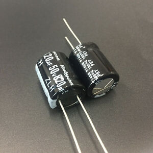 100pcs 820uf 50v820uf Rubycon Zlh Low Impedance Long Life Capacitor 16x20mm