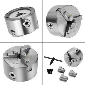K11 100 3 jaw 4inch Self centering Metal Lathe Chuck For Cnc Milling Drilling Is
