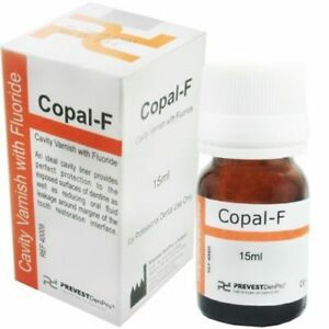 5 X Copal f Cavity Varnish With Fluoride Fast Shipping