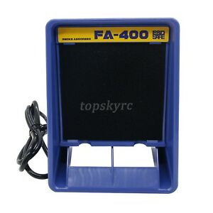 Fa 400 Soldering Iron Smoke Absorber Fume Extractor Free 12 Filter Kit Us