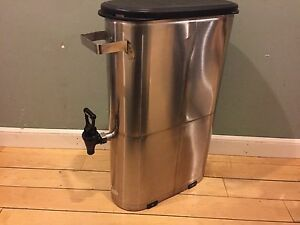 Wilbur Curtis Tcn001 Iced Tea Dispenser Stainless Steel