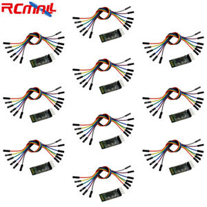 10pc Hc 05 Wireless Bluetooth Serial Transceiver Master Slave Module 6pin Cable