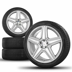 Amg Mercedes M Ml class W164 21 Inch Alloy Wheels Rims Winter Tyres Winter
