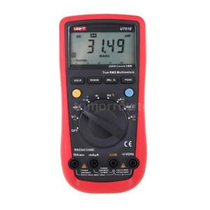 Mini Digital Multimeter Ac dc Voltmeter Ammeter True Rms With Test Lead M5y2