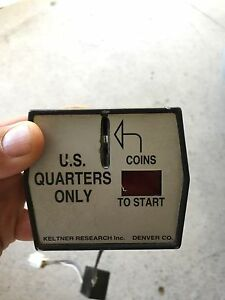 Keltner Coin Counter Coin Drop For Wascomat Sr 1 Wir 220v As Is