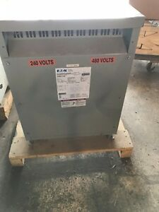 15 Kva Step Up Transformer Cutler Hammer V24m47t15ee