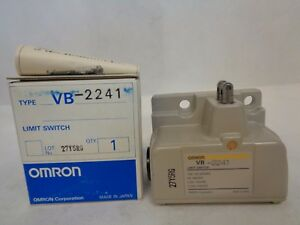 New Omron Vb 2241 Cnc Limit Switch 2 roller