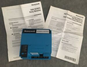 Honeywell Rm7895a 1014 Automatic Programming Control Burner Flame Safeguard