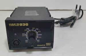 Genuine Hakko 936 Soldering Station Base Only tested free Shipping 5